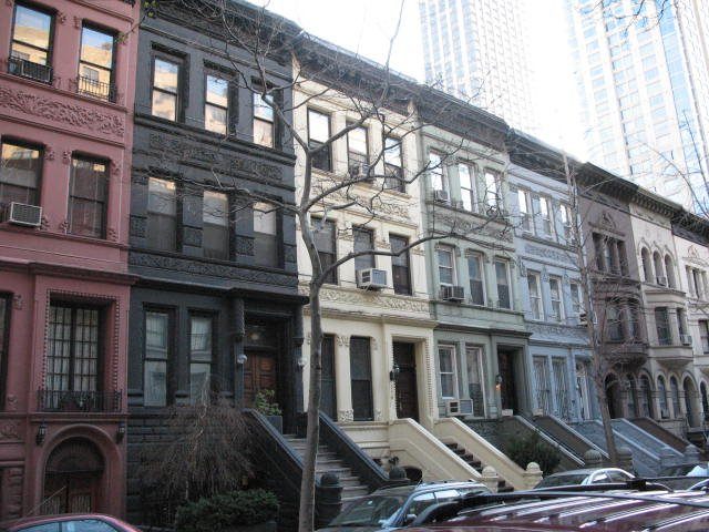 New York Row Houses : Langford new york style brownstones no strata concept